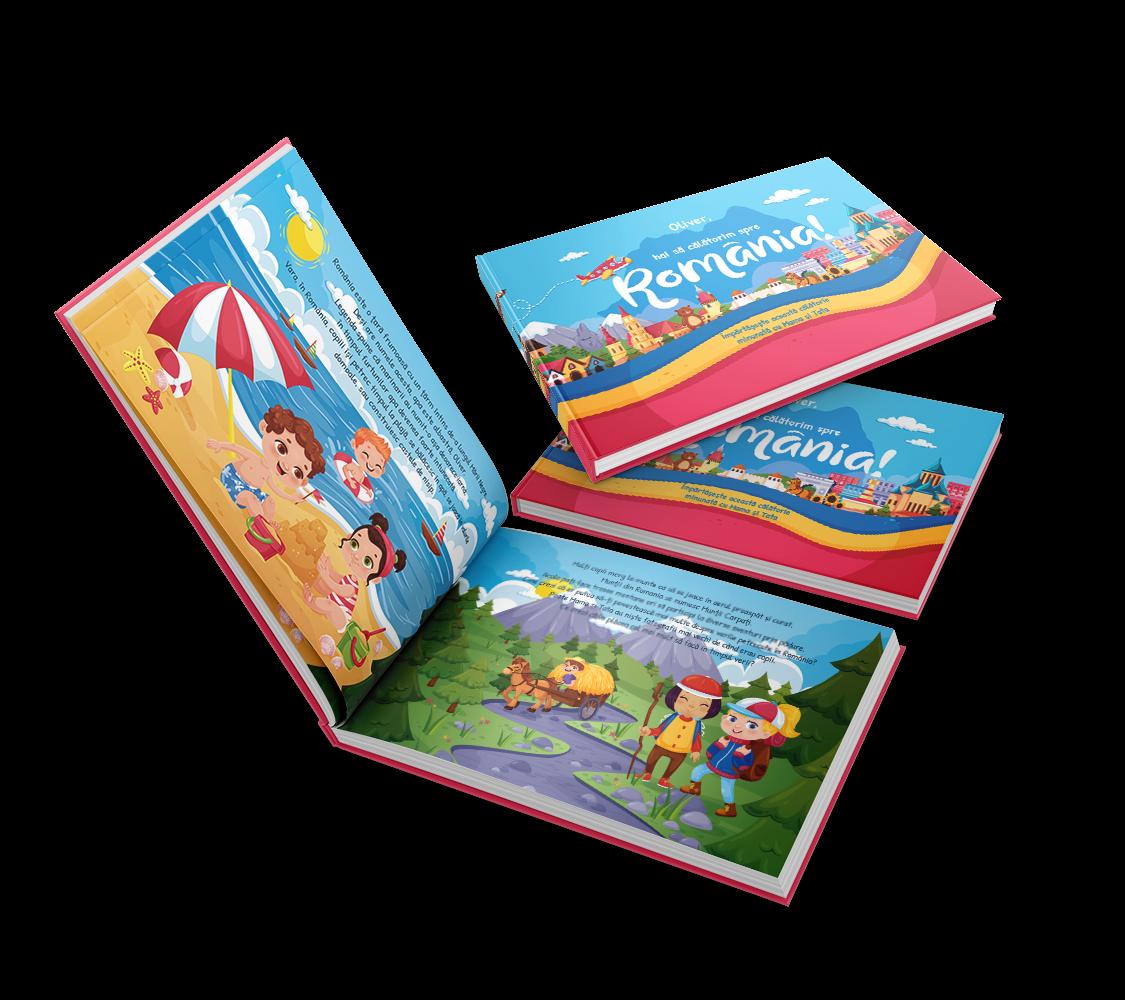Erstelle ein personalisiertes rumänisches Buch, das die ganze rumänische Familie genießen kann