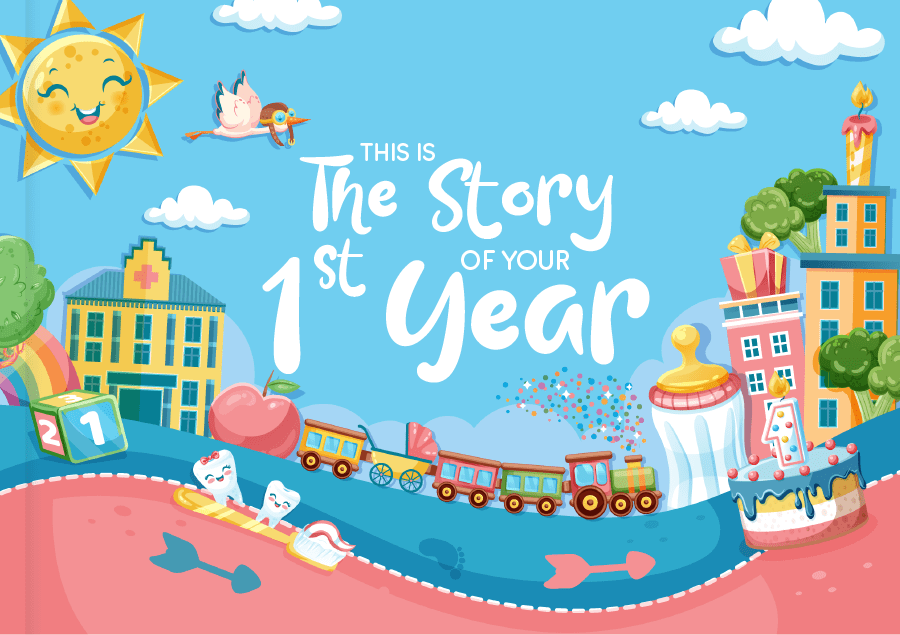 The Story of Your 1st Year Baby Book