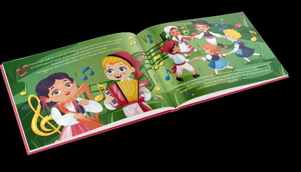 Condividi un libro unico sulla Francia con i più piccoli