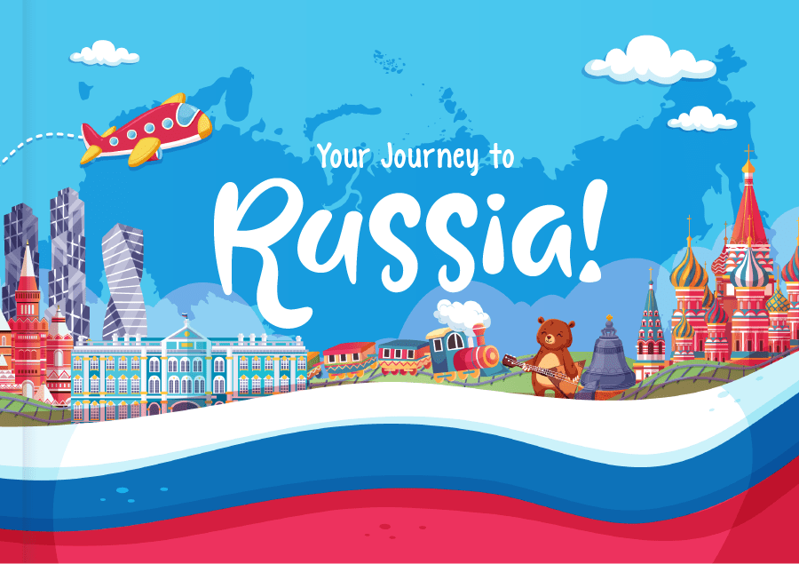 Kids Book Journey to Russia