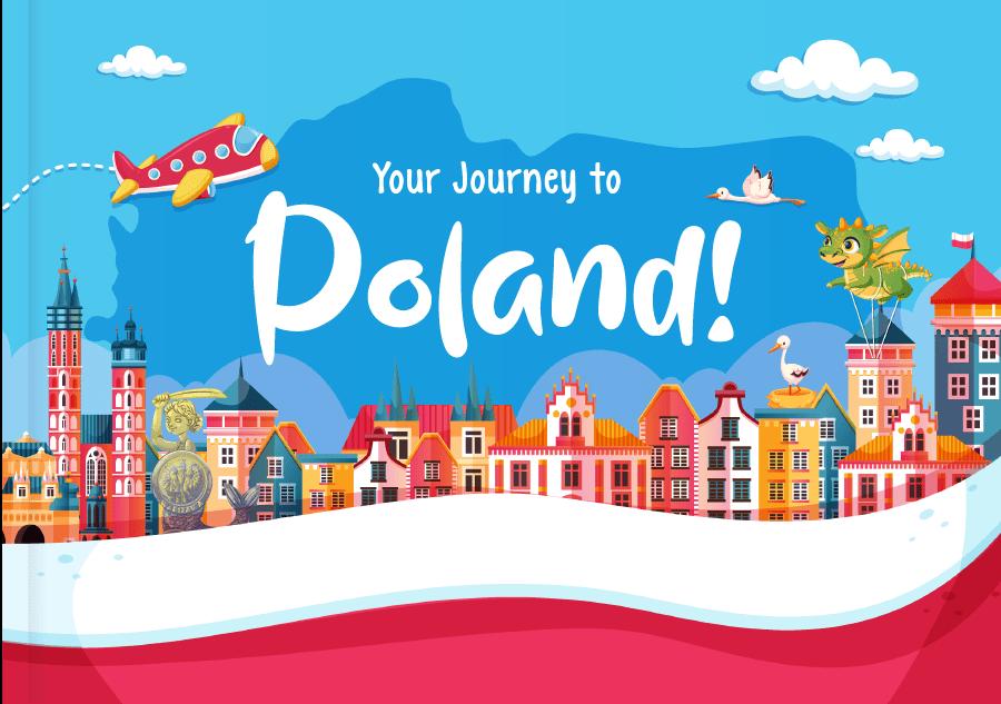 Kids Book Journey to Poland