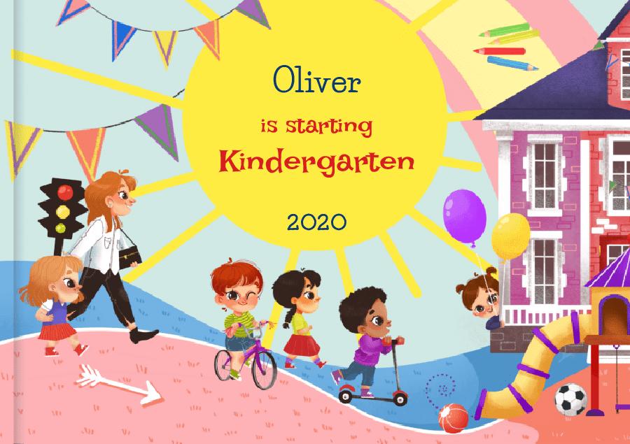 Personalised Starting Kindergarten book
