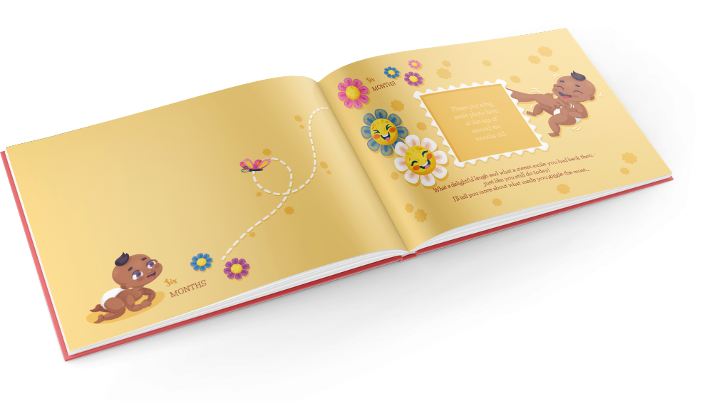 My first year baby book allows you to engage and connect warmly to your curious toddler about those magical twelve months