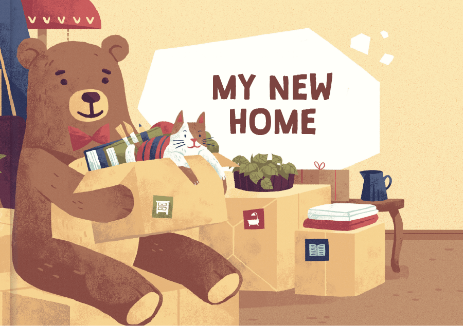 My New Home Moving Book