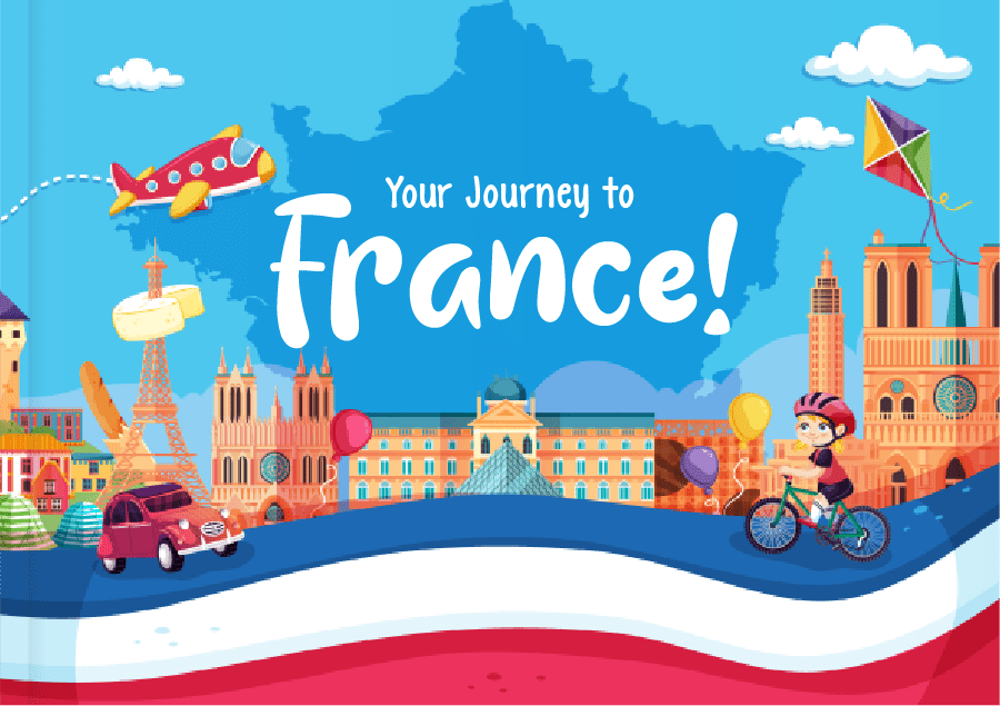 Kids Book about France for French Expats