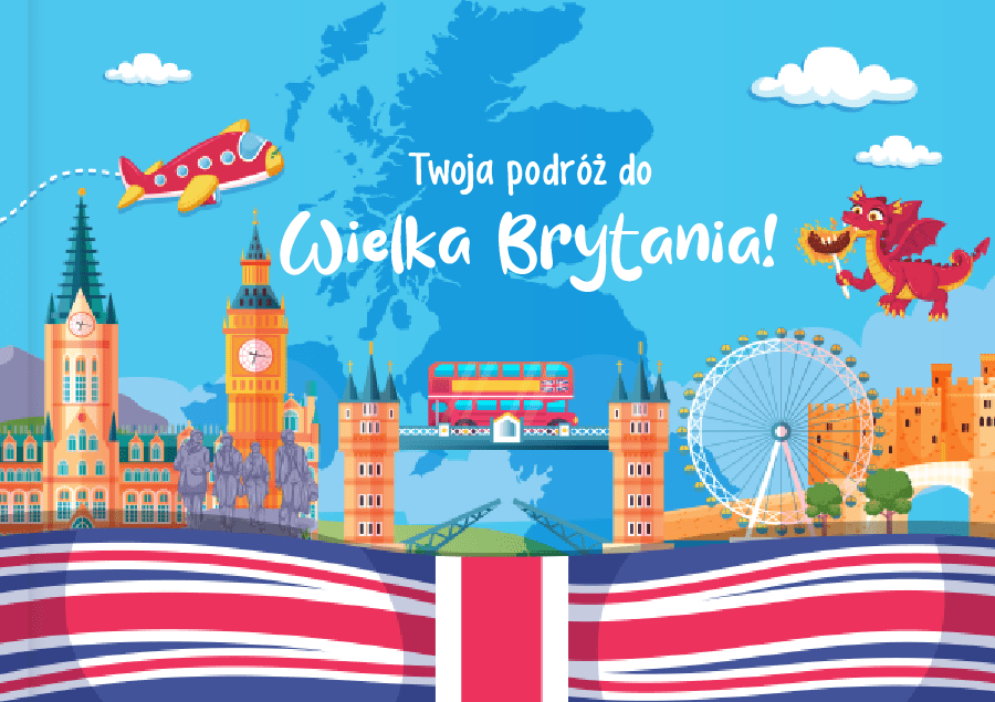 Kids Book Journey to the UK