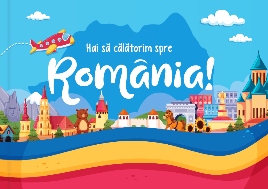 Kids Book Journey to Romania